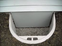 Crawl Space entry well and weather tight door - exterior | The ...