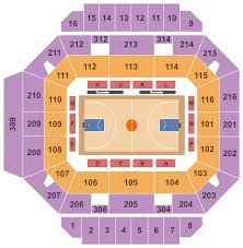 Kentucky Basketball Seating Chart Diddle Arena Seating Chart Bowling Green