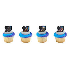 24 Marvel Black Panther Streets Of Wakanda Cupcake Rings Party