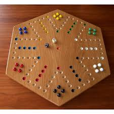 Wooden Aggravation Board Game Oak Wood Aggravation Board Game 1