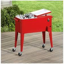 cart diy patio cooler cart on wheels patio cooler cart diy deck with wheels homemade box beverage rolling metal beer chest stainless steel outdoor
