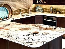 kitchen countertop materials comparison countertops chart