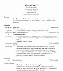 Pipefitter Resume Sample Simple 48 Plumbers And Pipefitters Resume Examples Construction