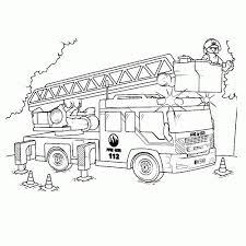 Brandweer Kleurplaat Zoeken Herrenlederjacke Beste Brandweerauto