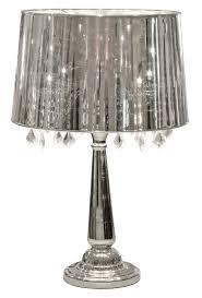 lamp shades table lamps modern. Febland Silver Shade Table Lamp Shades Lamps Modern