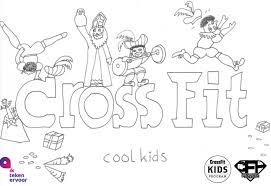 Crossfit Kids Pieten Wod Kleurplaatwedstrijd Crossfit Hoorn