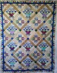 Nance's True Blue quilt. Longarmed by Le Ann Weaver of www ... & Quilt made by Dianna of The Log Cabin quilt shop. Longarm quilted by Le Ann Adamdwight.com