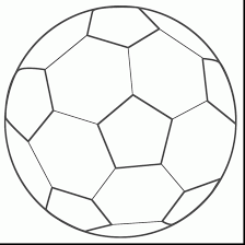 Small Picture Lovely Soccer Ball Coloring Page 83 About Remodel Picture Coloring