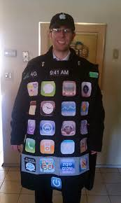 iphone costume. iphone purim costume with rustybrick apps iphone