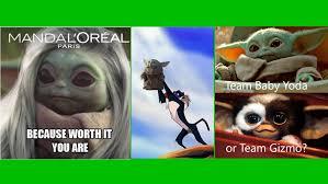 Major spoilers for the mandalorian ahead.🚨. Funniest Baby Yoda Memes Appear With Mandalorian Season 2 Premiere Parentology