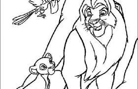 Lion King Coloring Pages Or Guarda Tutti I Disegni Da Colorare