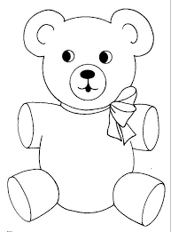 Small Picture Teddy Bear Wear Cute Ribbon Coloring Page Color Luna