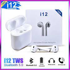Tai Nghe i12 TWS Bluetooth 5.0 - CẢM ỨNG - Tai nghe Bluetooth nhét Tai