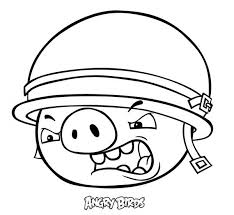angry bird pigs sol r coloring pages bulk color