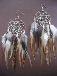 Dream Catcher Earing Midnight dreaming' Dreamcatcher earrings Hippie Masa Group 95
