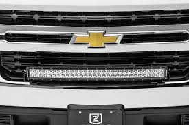 2009 Chevy Silverado Led Light Bar 2019 Chevrolet Silverado 1500 Front Bumper Top Led Bracket To Mount 1 30 Inch Curved Led Light Bar Pn Z322282