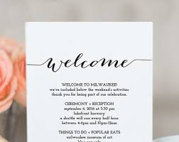wedding itinerary etsy Wedding Week Itinerary Template Wedding Week Itinerary Template #32 wedding week itinerary template design