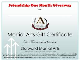 martial arts certificate template martial arts gift certificate template martial art certificate