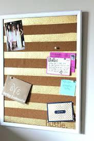 cork board office. Wonderful Office Cork Board Office Depot Ideas View In Gallery With  Gold Painted Stripes   Inside Cork Board Office H