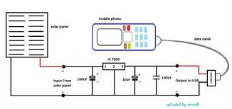 wiring diagram 5v solar battery charger circuit diagram 10562 solar mobile charger circuit design at Solar Battery Charger Wiring Diagram