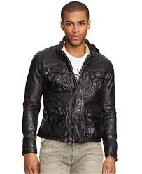 polo ralph lauren black southbury leather bike jacket 2 951568212 normal