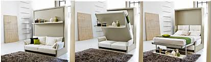 ... perfectly balanced Murphy bed sofa combination from murphysofa.com  opened MurphySofa sectional with float shelf ...
