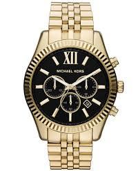 michael kors mk8286 mens lexington gold watch