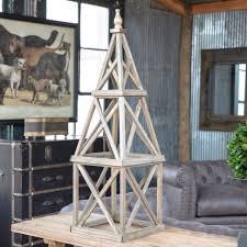wooden garden obelisk antique farmhouse