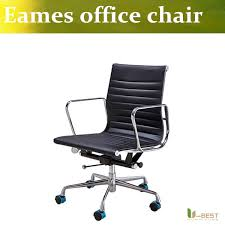 office chair genuine leather white. ubest emes office replica executive chairemes chair aluminum group style reproduction genuine leather white