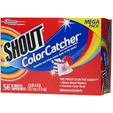 Shout Color Catcher In Wash Dye Trapping Sheets 56 Ct