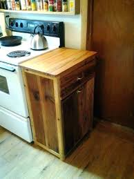 wood trash can bin wooden kitchen holder plans double diy cabinet
