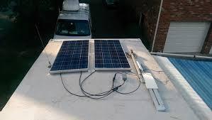 our basic diy rv solar installation