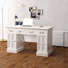 white home office. Item 2 White Office Double Pedestal Computer Desk 3 Drawers Study Table Antique Style -White Home