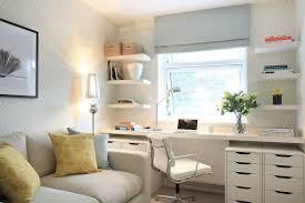 white desk home office. Bedroom Office With Manufactured Wood Desks2- Home Transitional And Floating Shelves White Desk S