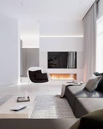 Interior Designed Living Rooms Modern Stylish Apartment Interior Design In A Simplicity Design