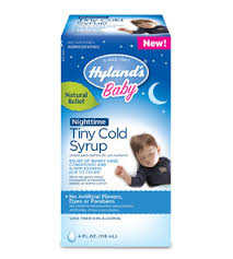 Hylands Baby Nighttime Tiny Cold Syrup Hylands Homeopathic