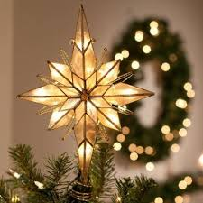 Amazon.com - Multi Point Bethlehem Star Tree Topper. Christmas ...