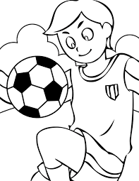 Small Picture Soccer Coloring Page Best 9300