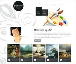 Art Gallery Website Template Free Web Templates Download