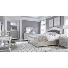 bedroom sets. Modren Bedroom Coralayne Silver Bedroom Set For Sets