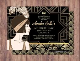 Great Gatsby Invitation Template Free 10 Great Gatsby Invitation Designs Examples In Psd
