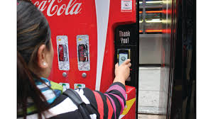 New Coca Cola Vending Machine Mesmerizing Smart Phones Have Empowered Consumers To Buy More Despite The