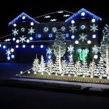 50 spectacular home lights displays