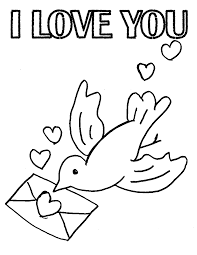 Small Picture I love you coloring pages dove ColoringStar