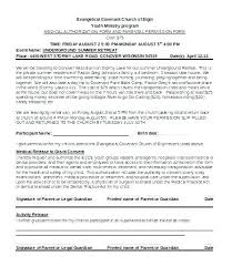 Permission Slip Template Fascinating Parental Consent Form Template Oursharkco