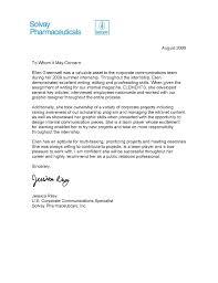 Best Ideas Of Sample Recommendation Letter For Internship Program