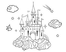 Castello Delle Principesse Da Colorare