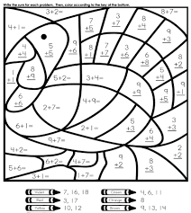 color by number thanksgiving worksheets 4 subtraction worksheets free subtraction worksheets for 5th grade on fractions to decimals 5th grade printable