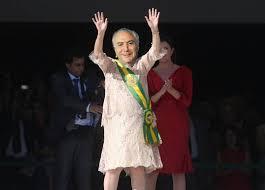Resultado de imagem para temer com faixa presidencial