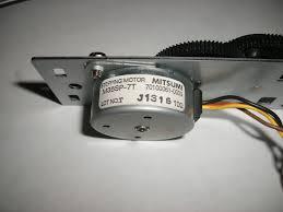 stepper motor 4 wire unipolar